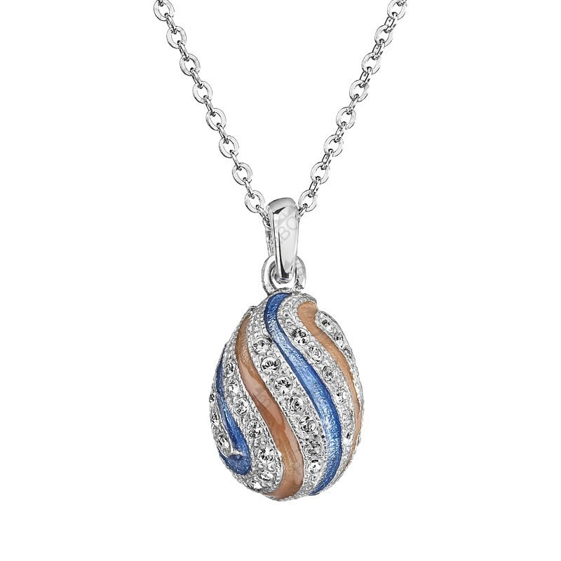 Crystal Egg Necklace, By ECLAT®