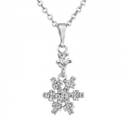 Necklace Flake Crystals ECLAT®