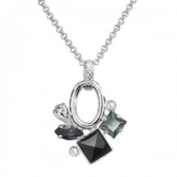 Necklace Square Crystals ECLAT®