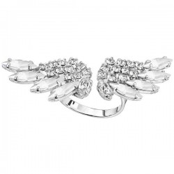 Ring Fly Me, Crystals Silver Finish, ECLAT®