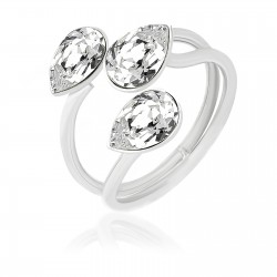 Pear and Crystal Ring, ECLAT®