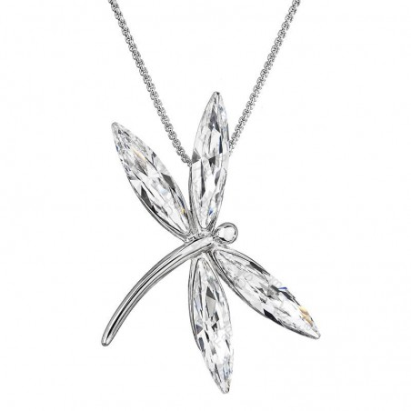 Necklace Butterfly Crystals ECLAT®