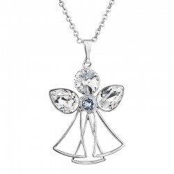 Necklace My Angel, Clear Sapphire, ECLAT Crystals®