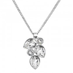 Necklace Pear and Crystals, ECLAT®