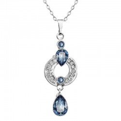 Necklace Drop of Crystal By ECLAT®